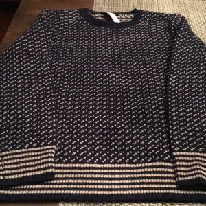 J. CREW MENS LAMBSWOOL SWEATER